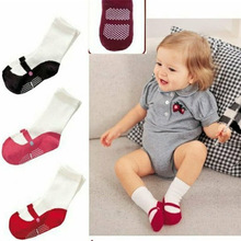 Newborn Baby Socks calcetines Boys Girls Summer Shoe Socks Cute Mini Footgear Infant Kids Non-Slip Socks
