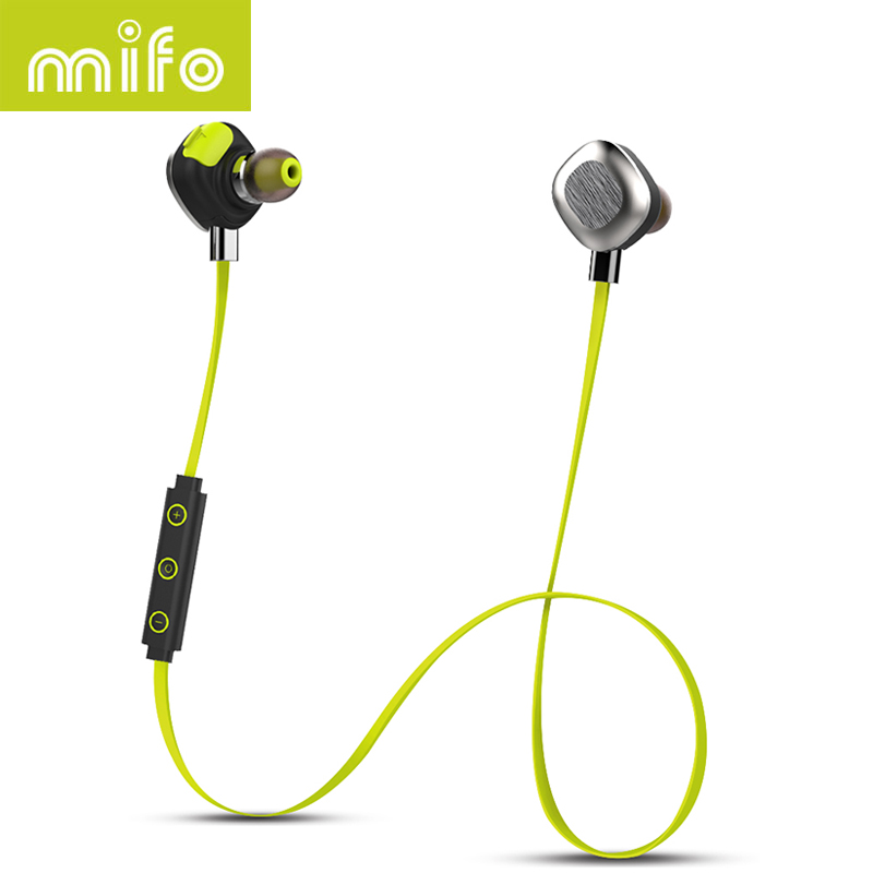 mifo U5 PLUS Waterproof IPX7 Wireless Bluetooth Headset Stereo Bluetooth Earphone with Microphone Magnetic Long Working Time <br>