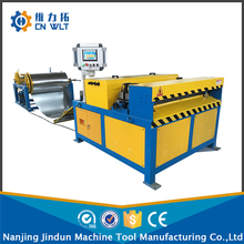 Factory direct sale square duct forming machine,pipe/air tube duct fabrication line from Nanjing Jundun(China)