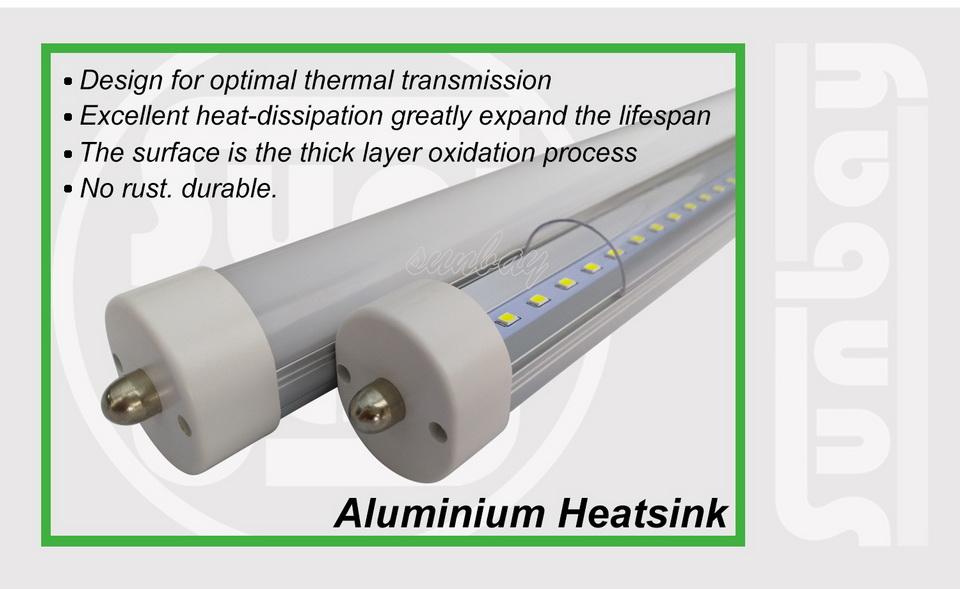 5S-T8-FA8-Aluminium Heatsink