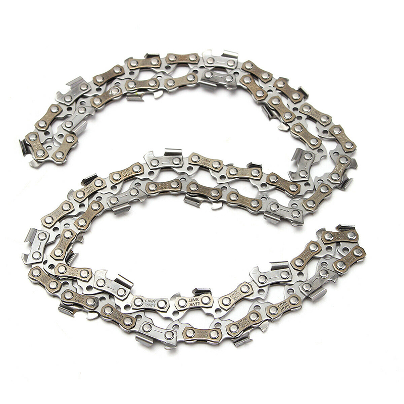 """2pcs 16"""" Chainsaw 3/8"""" Pitch Chain Blade Wood Cutting Chainsaw Parts Chainsaw Saw Mill Chain"""