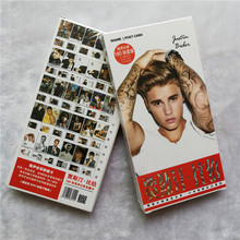 Youpop KPOP Fashion Justin Bieber Album Where Are U Now 30 Postcards 30 Small 120 Stickers K-POP Photo Cards Share Post Cards(China)