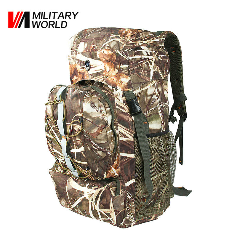 60L Army Military Backpack Camping Camouflage Package Outdoor Tactical Hiking Shoulder Sports Bags Hunting Back Pack Men Women<br><br>Aliexpress