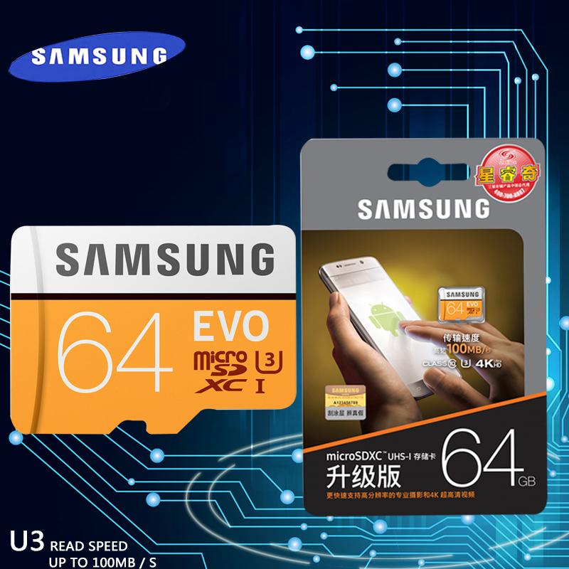 SAMSUNG-New-EVO-Memory-Card-16GB -32GB-SDHC-64GB-128GB-256GB-SDXC-TF-Flash-Card-Micro