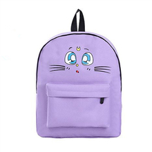 2017 Canvas Back Pack Women Backpack For Girls SchoolBags Small School Bags Pack Women Multifunction Preppy Style Backpacks
