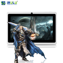 "2017 iRULU 7"" X3 Android 6.0 Tablet Quad Core 1.3 GHz 0.3M Front/Back Cam 1G RAM+16GB ROM Tablette Tactile HD TFT LCD Screen"