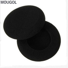5 Pairs Black Comfort Replacement Ear Cushion Pad Earpad Soft Foam Care Headphone For MP3 Headphones Earphones Accessories