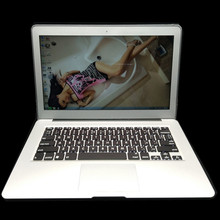 1920*1080P Aluminum Metal Case 13.3Inch laptop In-tel i3/i5/i7 windows7/8 notebook Dual-core 1.5Ghz 4GB &128GB SSD WIFI(China)