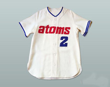 1966 Replica Sankei Atoms #2 Baseball Jersey Custom Stitched Throwback Baseball Jerseys Free Shipping Viva Villa