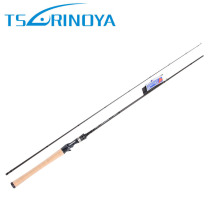 Tsurinoya Elite Rod Carbon Fishing Rod Bait Casting Fishing Rod High Quality FUJI Reel Seat Soft Wooden Handle Casting Rod(China)