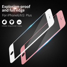 X-level 9H 2.5D 0.3mm Full Screen High Definition Thin technology For iPhone 6 6s 7 / 6 7 plus 6s plus tempered glass