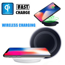 mokingtop Qi Wireless Charging Charger Pad For Iphone 8 / 8 Plus / X wireless charger USB Adapter 5V 1000mA Power 10W(China)