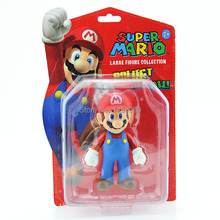 "Classic Toys Super Mario Bros Character Mario PVC Action Figure Collection Model Toy Doll 5"" 12CM New in Retail Box"