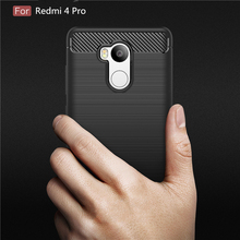 Buy Shockproof Armor Carbon Fiber Cases Xiaomi Redmi 4 Pro Case TPU Silicone Capa Fundas Coque Xiaomi Redmi 4 Pro Cover P35 for $2.79 in AliExpress store