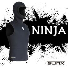 Slinx 3mm Neoprene Wetsuit Vest Have hat High Quality Basic Skin Wet Suit Black Pull Over Sleeveless Vest snorkeling surfing(China)