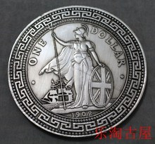 CHINA ZHANGYANG 1 DOLLAR SILVER COIN 10 YUAN old Chinese culture Free Shipping(China)