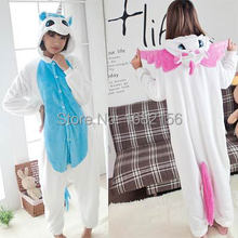 Unisex Adult Children Unicorn Pink&Blue Onesie Pajamas Christmas Party Costumes Halloween Cosplay