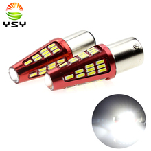20 X 960Lums 1156 BA15S 1141 1073 1095 1003 7506 Base 48SMD 4014 LED Replacement for Car Bulb Interior RV Camper Brake Turn Lamp