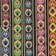 ZERZEEMOOY 43MM 9YARD/LOTS Woven Jacquard cotton Ribbon Satin peacock king 7 colour Christmas ribbon
