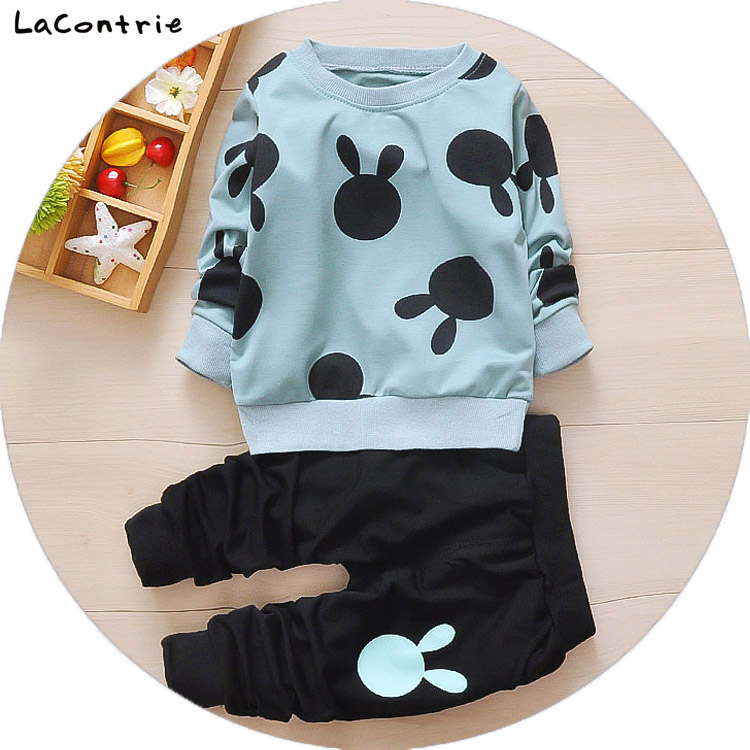 Safety Cosy Lacontrie Character Clothing for babies boy baby girl Korean newborns Kids things Clothes Coat + Pants<br>
