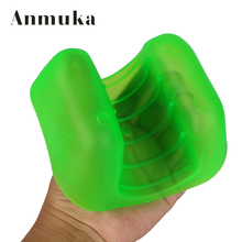 Anmuka 2pcs Soft Plastic Anti-scratch Fishing Tackle Gloves Pick up Fish Hand Protection Tool Fishing Accessories
