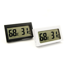 Mini Digital LCD Indoor Convenient Temperature Sensor Humidity Meter Thermometer Hygrometer Gauge Factory warehouse laboratory(China)