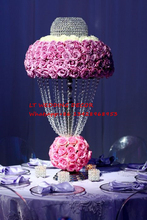 35cm diameter 70cm tall wedding table centerpiece/flower stand flower vase wedding road lead wedding table decoration