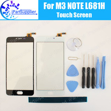Meizu M3 Note touch screen 100% Original Digitizer glass panel Assembly Replacement for Meizu M3 Note L681H cell phone+ Tools
