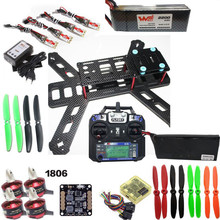 Emax Nighthawk 250 280mm Wheelbase Carbon Fiber Quadcopter Frame Kit with 1806 2300KV Motor+CC3D+ Flysky I6 Remote Controller(Hong Kong,China)