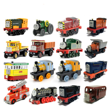 Thomas& Friends-Diecast Metal Train Hiro DIESEL Salty Victor Thomas And Friends Toy Magnetic Models Toys For Kids Children Gifts(China)