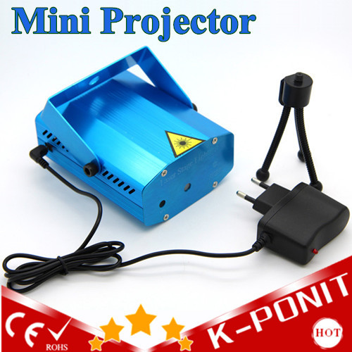 EU US Plug Portable Music Laser LED Stage Lights  Adjustment DJ Party Home Wedding Club Projector Lighting Red &amp; Green <br><br>Aliexpress