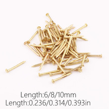Round wooden nail small nails round antique wine nails(China)
