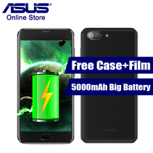 2017 ASUS Zenfone 4 Max Plus ZC550TL X015D 5000mAh Battery 5.5 Inch Octa Core Mobile Phone Android 7.0 MT6750 Dual Back Cameras
