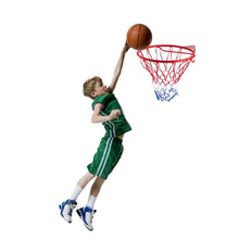 Indoor & Outdoor Hanging Wall-mounted Basketball Hoop Basketball Box For Children Kids(China)