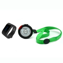 SINGCALL wireless emergency call system.Caring system 1 wrist nurse calling receiver and 1 hanging call button