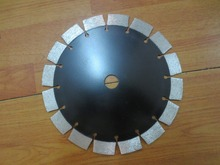 230x15x22.23-15.88mm cold press segment diamond saw blade for bricks, granite,marble and concrete.