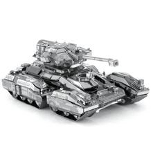 New Arrival Halo  3D Metal Model Puzzle Toys  DIY Assembled Gift Halo UNSC Warthog Scorpion Tank UNSC Fighting Vehicle Jigsaw