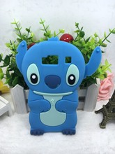 Fashion 3D Lovely Kawaii Cartoon Stitch Soft Silicone Back Cover Phone Cases For Motorola Droid Razr HD XT925 XT926(China)
