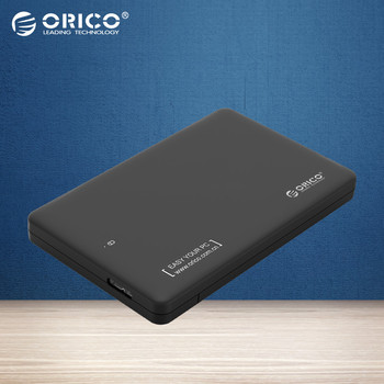 ORICO 2599US3 Sata3.0 to USB 3.0 HDD Case Tool Free 2.5 HDD Enclosure for Notebook Desktop PC hard disk Box (Not including HDD)