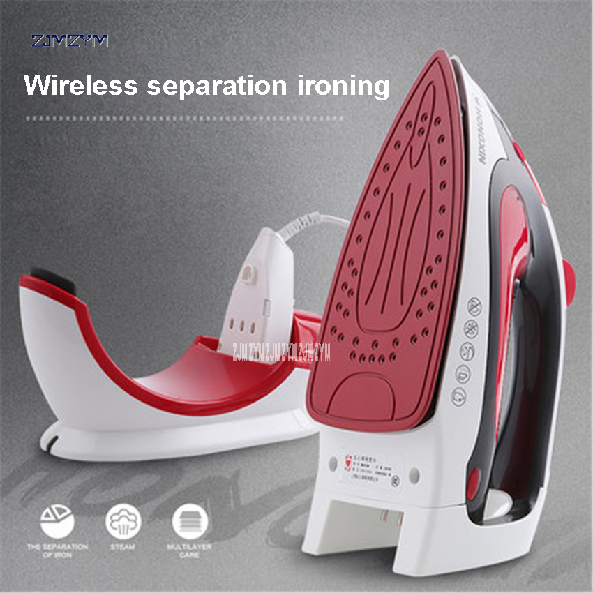 1pc RH139 High Quality Steam Iron Hanging Handheld Electric Iron Wire And Wireless Dual-Purpose Electric Iron ABS shell220V/50hz<br>