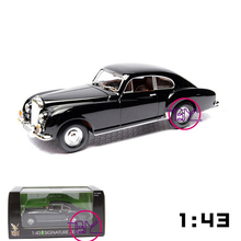 Packaged In Box 1/43 Scale Road Signature 1954 Bentley R-Type Diecast Car Models Green and Black Children Gifts Collections