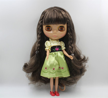 Free Shipping Top discount 4 COLORS BIG EYES DIY Nude Blyth Doll item NO. 399 Doll limited gift special price cheap offer toy(China)