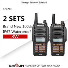 Baofeng Waterproof UV-9R Ham Radio IP67 Dual Band UHF VHF Upgrade Version of baofeng uv-5r 8w Hot Baofeng uv-9r radio 2 pieces