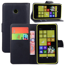 Amazing Case For Microsoft Lumia 630 635 Leather Flip Stand Wallet Case Cover For Nokia Lumia 630 635 With Card Slot Holder