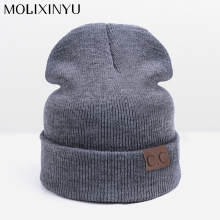 MOLIXINYU 2017 New Arrive Fashion Children Hat For Girls Winter Baby Hat For Boys Hats Warm Knitted Baby Cap For Girls Cap(China)