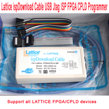Lattice ispDownload Cable USB Jtag ISP FPGA CPLD Programmer for Diamond ispLever Win7 WIN8 WIN8.1 Linux