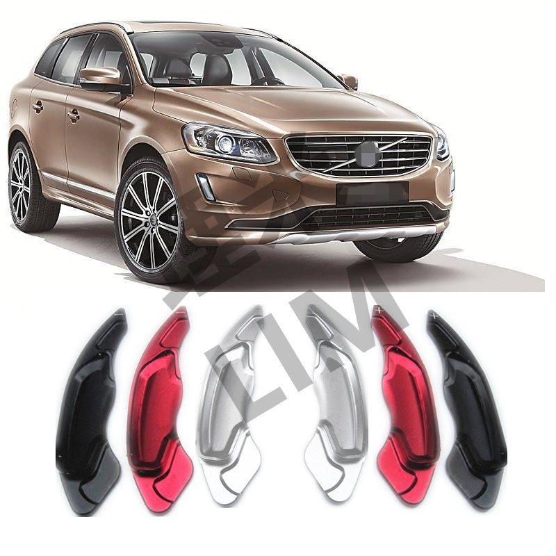 Steering Wheel Aluminum Shift Paddle Shifter Extension fits for Volvo V40 S60 V60 XC60 S80 XC70 Car Accessories<br>