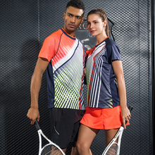 New Quick dry sports Tennis sets sportswear sets Women / Men , table tennis set , Badminton sets shirt + skirt 1019(China)