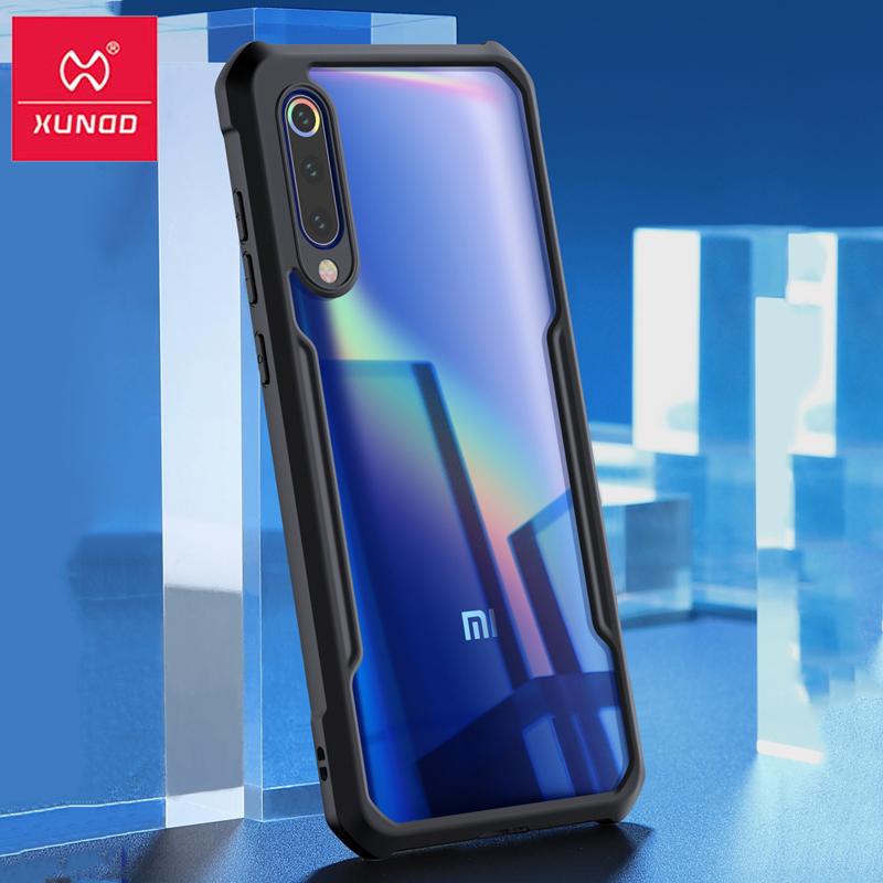 XUNDD Airbag Shockproof Case For Xiaomi Mi9 Cover 360 Full Protective Transparent Back Cover for Xiaomi Mi 9 Case Coque(China)
