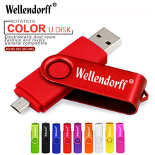 2017 New Brand colourful for Smart Phone OTG USB Flash Drive Pen Drive External Storage Micro USB Stick 4GB 8GB 16GB 32GB 64GB